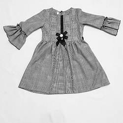 Модное платье в школу