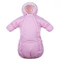 Конверт-комбинезон зимний для новорожденного 3-6 мес., р. 62, 68 ZIPPY ТМ HUPPA 32130030-80003 розовый
