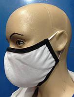 Защитная маска многоразовая,двухслойная,хлопковая.3