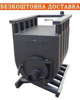 Піч буллер'ян (буллер) аква водяне опалення 04-1200 м3 для будинку 35-40 кВт