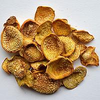 Овочеві чіпси з ріпи, 40 грам: відповідають 450-500 г свіжої ріпи