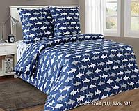 Комплект постельного белья SHARKS, двуспальный
