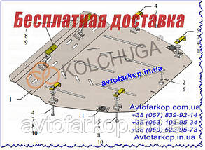 Захист двигуна,КПП Honda Civic 10 5D хетчбек (2015-)(захист двигуна Хонда Цивік 10 5Д) Кольчуга