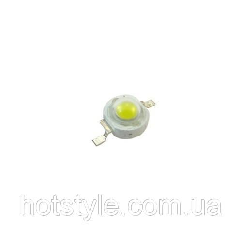 10x Светодиод белый 1Вт 90-100лм 3.2-3.6В