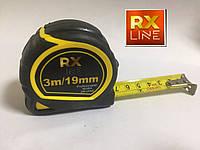 Рулетка RX LINE Profesional 3m/19mm
