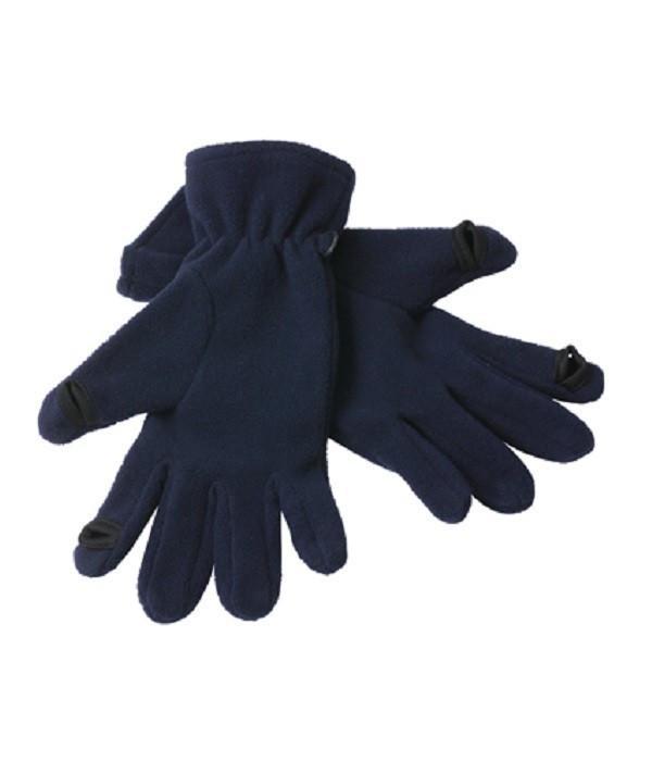 Флісові рукавички touch-screen MNAV Темно-Синій, L/XL