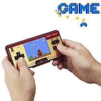 Ретро консоль игровая FC GAMES портативная, 130 популярных встроенных 8-битных игр