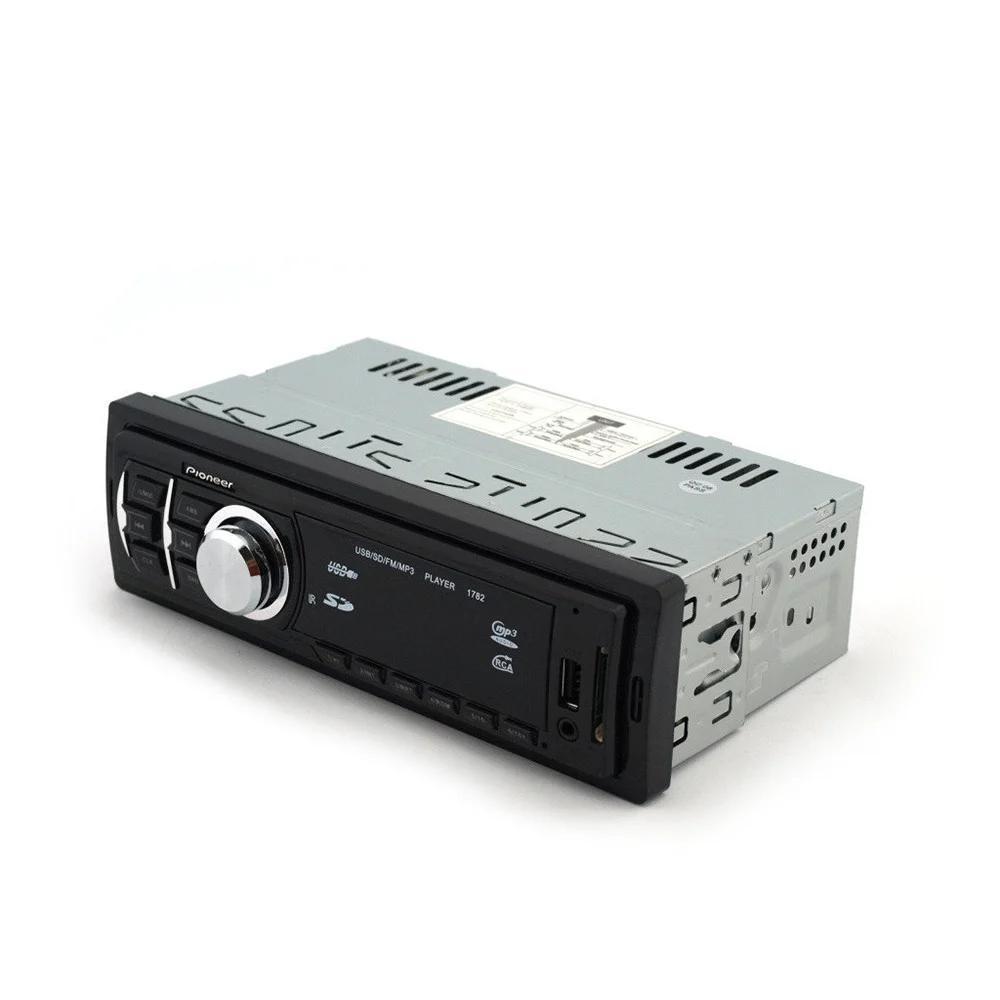 Автомагнітола Pioneer 1782 DBT (магнітола піонер знімна панель, Bluetooth Usb)  + ПОДАРУНОК!