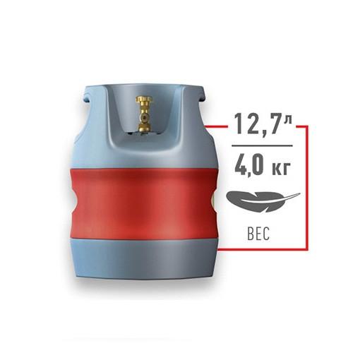 Композитний газовий балон 12.7 L HPC Research (Чехія)