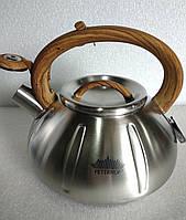 Чайник со свистком Peterhof PH-15652  3 л, фото 1