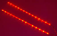 Стоп сигналы светодиодные ленты автомобильные стоп-сигналы на полосках 32 см CSL-4001B-G-32