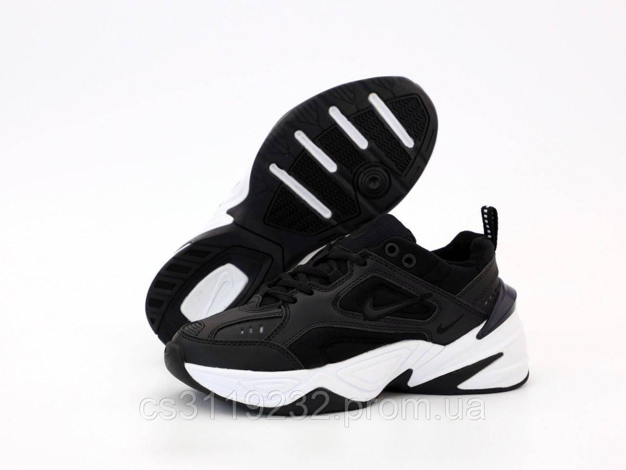 Женские кроссовки  Nike M2K Tekno Black White (черные)