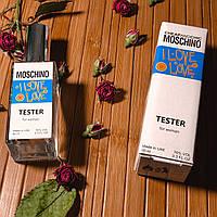 Moschino I Love Love женская парфюмированная вода 60 ml