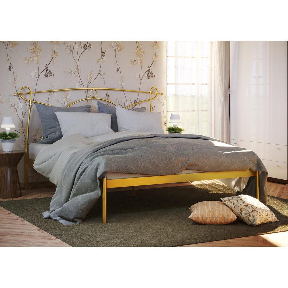 Металлическая кровать Florence -1 (Флоренция -1) ТМ Метакам без изножья
