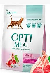 Корм Optimeal Lamb Sensitive Adult Оптіміл Сенсітів з ягням для дорослих кішок 10 кг