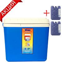 Термобокси Mega на 12 л (сумка холодильник, термосумка пластикова, термо контейнер), фото 1