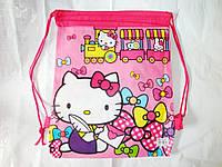 Рюкзак сумка для сменной обуви Hello Kitty