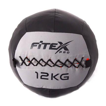 Мяч набивной Fitex MD1242-12, 12 кг, фото 2