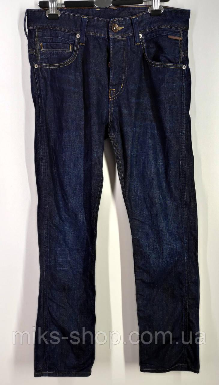 Мужские прямые джинсы на пуговицах бренда Denim Размер 31-32