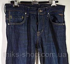 Мужские прямые джинсы на пуговицах бренда Denim Размер 31-32, фото 2
