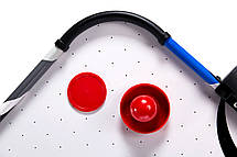 Игровой стол аэрохоккей MD Sports - 122 x 60 x 76 cм, c электронным LED счетчиком, фото 2
