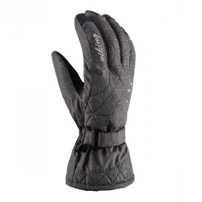 Гірськолижні рукавички Viking Mirabel сірі | розмір - 6,8
