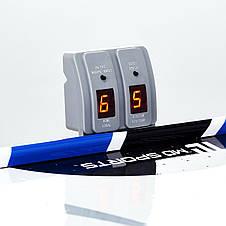 Игровой стол аэрохоккей MD Sports - 122 x 60 x 76 cм, c электронным LED счетчиком, фото 3