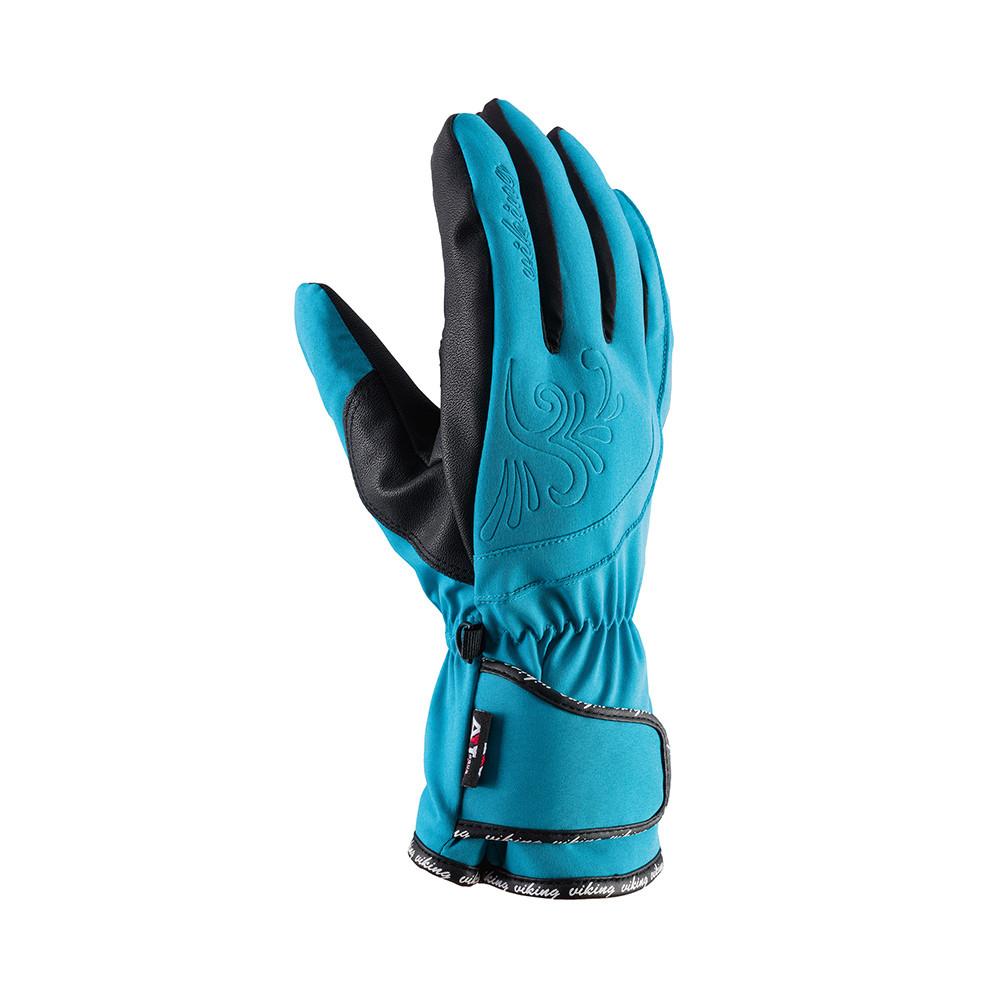 Гірськолижні рукавички Viking Sonja голубі   розмір - 5,6,7,8