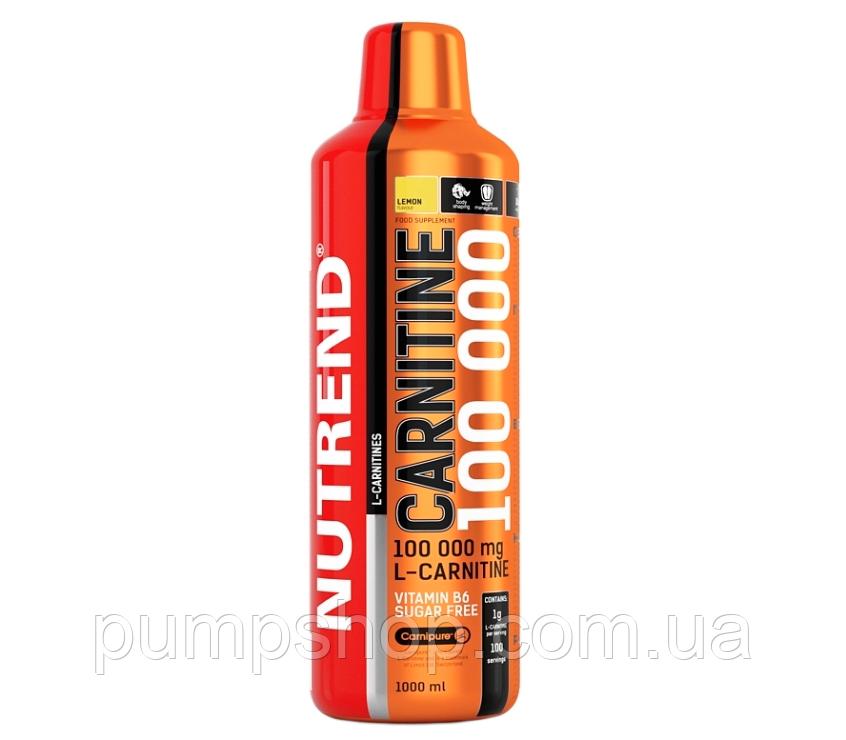 Л-карнитин Nutrend Carnitine Liquid 100000 1000 мл