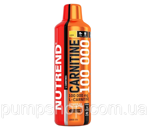 Л-карнитин Nutrend Carnitine Liquid 100000 1000 мл, фото 2