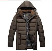 Куртка пуховик мужская, разные цвета  МК-260-О, фото 1