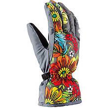 Гірськолижні рукавички Viking Tolina темно-сірі | розмір - 5,6,7