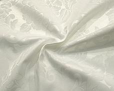 Ткань Скатертная TS-360354 Цветы 360см Молочный Италия, фото 2