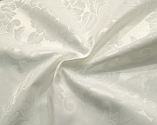 Тканина Скатертная TS-360354 Квіти 360см Молочний Італія, фото 2