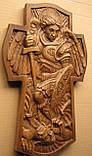 """Икона резная деревянная """"Св. Арх. Михаил"""" (35х22см), фото 2"""