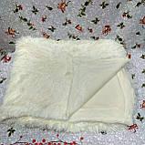 Плед покрывало меховое  Травка Мишка Страус Пушистик  Евро размер, фото 3