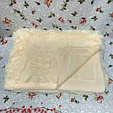 Плед покрывало меховое  Травка Мишка Страус Пушистик  Евро размер, фото 10