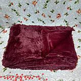 Плед покрывало меховое  Травка Мишка Страус Пушистик  Евро размер, фото 8