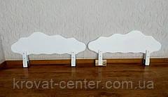 """Белый защитный бортик """"Облако"""" с аппликацией 100 см., фото 3"""