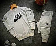 Спортивный костюм мужской Nike х grey весенний летний ТОП качества