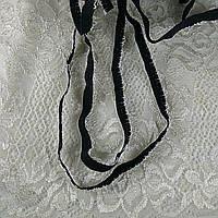 Бретелечная Резинка Эластичная 4727 Черный 8мм