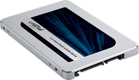"""Твердотельный накопитель 1Tb, Crucial MX500, SATA3, 2.5"""", TLC 3D, 560/510 MB/s (CT1000MX500SSD1)"""