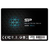 """Твердотельный накопитель 256Gb, Silicon Power A55, SATA3, 2.5"""", 3D TLC, 530/530 MB/s (SP256GBSS3A55S25)"""