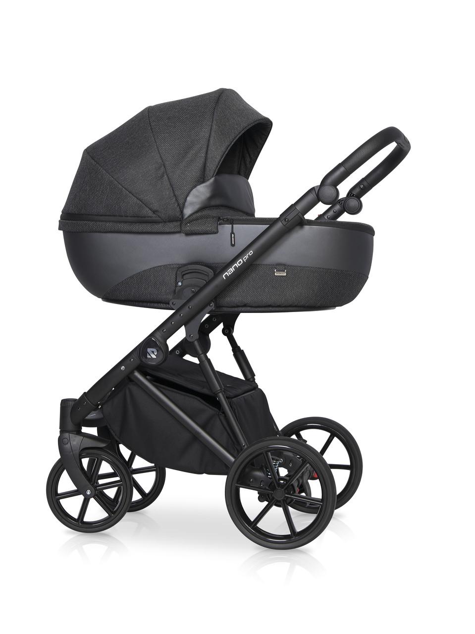 Дитяча універсальна коляска 2 в 1 Riko Nano Pro Carbon 06