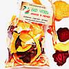 Овочеві чіпси з гарбуза-17, моркви-17 та буряку-16, суміш 50 грам
