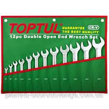 Набор рожковых ключей 6-32 мм TOPTUL 12 шт. GAAA1206