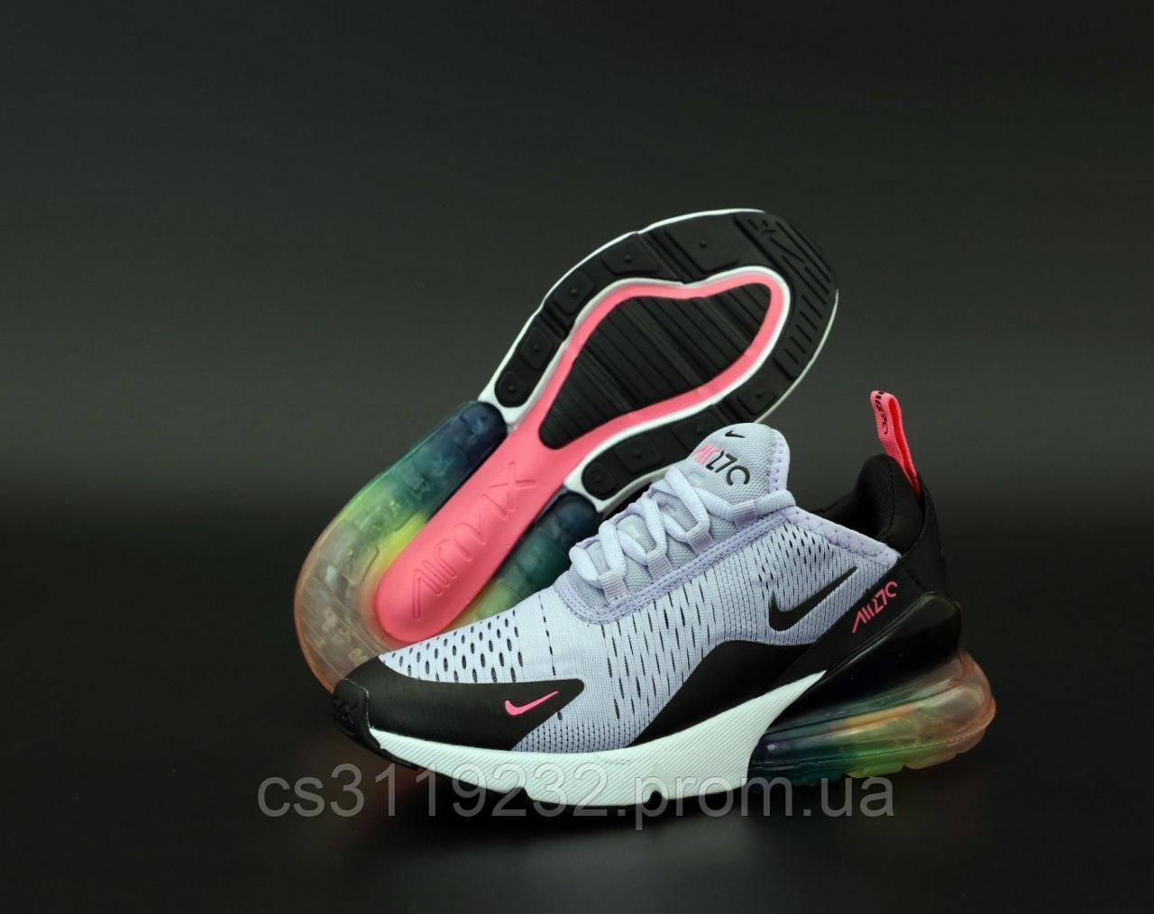 Женские кроссовки Nike  Air Max 270 (мультиколор)