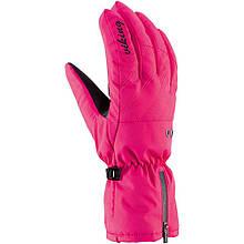 Гірськолижні рукавички Viking Selena розові | розмір - 6