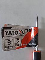 Отвертка YATO 2.0x 50 mm для точных работ