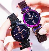 Часы женские Sky watch на магнитном ремешке
